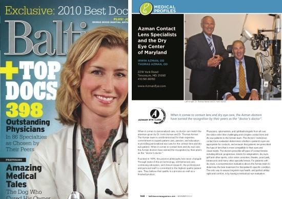 top contact lens dr 2010